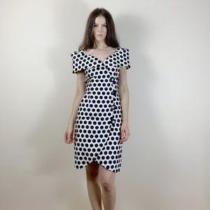 Vintage polka dot 80's dress.